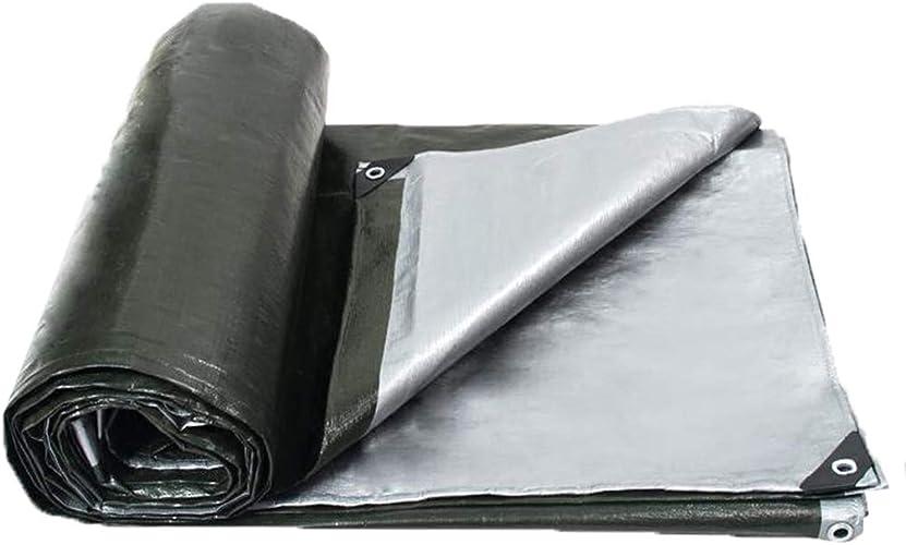 Sarazong épaissir Imperméable Bache Toile d'ombre Feuille de bache Bache Lourde Bache en Toile Faite à 180 grammes mètre voitureré,4  4m