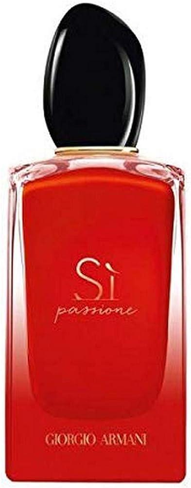Giorgio armani sì passione intense, eau de parfum,profumo per donna, 50 ml 3614272826557