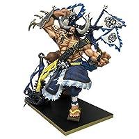 1枚の最も強いクリーチャーKaidoアニメアクションフィギュアモデルPVC Statueコレクションおもちゃデスクトップの装飾 (Color : Blue)