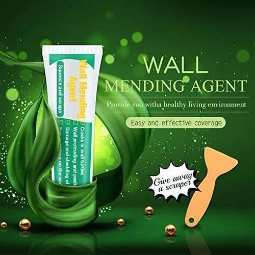 Wall Surface Repair Cream,T.Face Wall Mending Agent,Wall Repair Cream Crack Filler Wall Nail Repair Agent - Multi-Purpose Weatherproof Smooth Expanding Foam Filler - Quick Drying (1pcs)