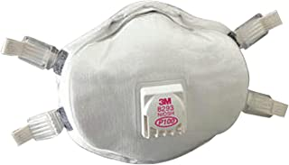 3M Personal Safety Division 8293 P100 Particulate Cartridges, Half Facepiece, Plastic, One Size, White