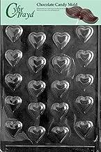 قالب Cybrtrayd قلوب gamblers المقاس حلوى الشوكولاتة مع تعليمات CybrTrayd حقوق الطبع محفوظة قالب شوكولاتة حصرية, Chocolate Mold, Clear