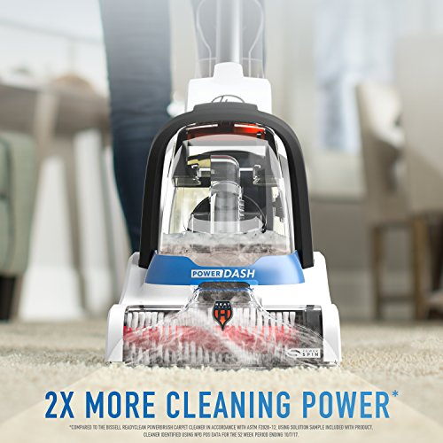 Hoover PowerDash Pet Compact Carpet Cleaner, Lightweight, FH50700, Blue