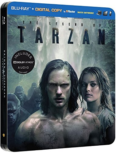 The Legend of Tarzan (Limited Steelbook) Alexander Skarsgård, Samuel L Jackson, Christoph Waltz