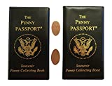 Each Book Holds 36 Elongated Cents and 8 Elongated Quarters (88 Total) Tri-fold design is compact and easy to pack on trips Measures just 6 x 3.5 x 0.4 inches when closed Includes TWO random pressed pennies!