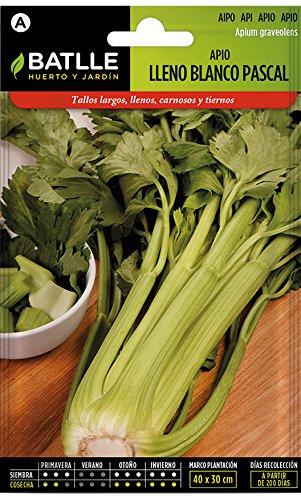 Batlle Gemüsesamen - Stangensellerie weiss Pascal (60-90 Samen)