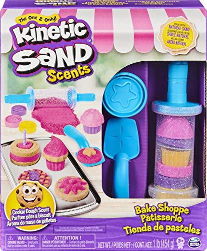 Kinetic Sand- Bäckerei-Spielset mit Duftsand, 454g für kreatives Indoor-Sandspiel Set da Pasticceria con Sabbia profumata, Colore, 6056925