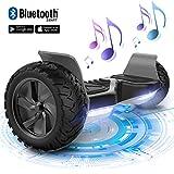 MARKBOARD Scooter Elettrico Hover Board Scooter SUV con Ruote 8.5 inch LED con App Bluetooth