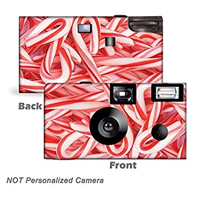 5 Candy Canes Christmas Disposable Camera, Party from CustomCameraCollection