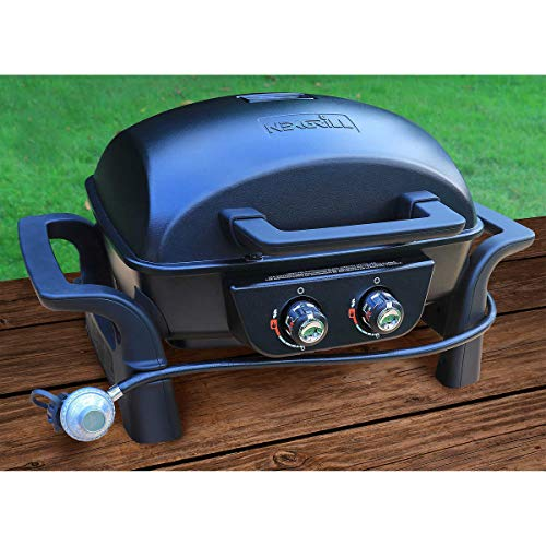 Nexgrill 2 Burner Aluminium Table Top Gas Barbecue Gas Grills