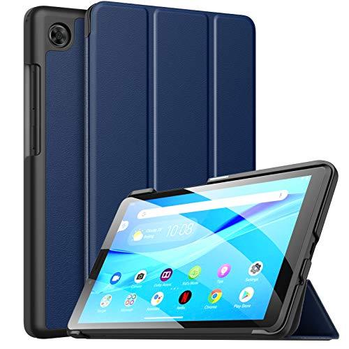 MoKo Hulle Kompatibel mit Lenovo Tab M7 TB 7305 7Tab M7 2nd Gen Ultra Slim PU Leder Tasche Schutzhulle Standfunktion Kompatibel mit Lenovo Tab M7 TB 7305 7Tab M7 2nd Gen Tablet Indigo