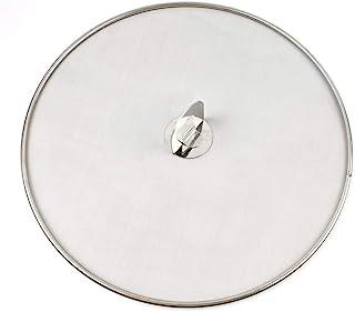sycamorie Couvercle Poele 25cm 33cm /Écran De Projection en Acier Inoxydable avec Poign/ée en ABS Couvercle De Po/êle Anti-/éclaboussures Anti-Graisse Outils De Cuisson 29cm 21cm