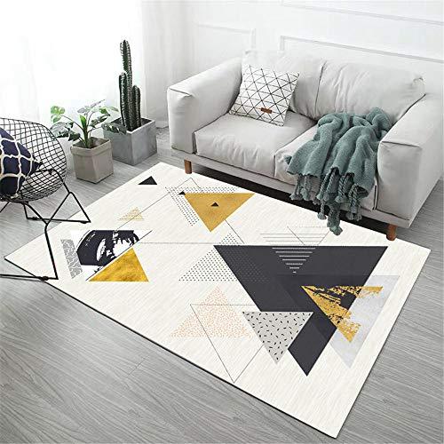 Alfombra Grande Salon alfombras de Gateo Sala de Estar Alfombra Blanca rectángulo...