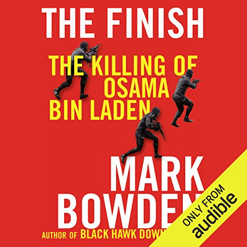 The Finish audiobook cover art
