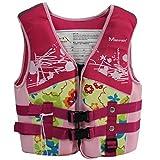 N-B Chaleco Salvavidas para niños, Chaleco de flotabilidad, Equipo de...