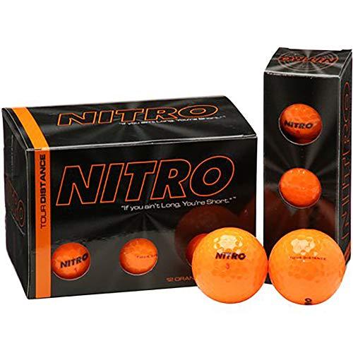 Nitro Tour Distance, weich, 15 Stück, Orange