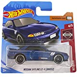 Hot Wheels Nissan Skyline GT-R(BNR32 ) 8/10 2019 (1/250) Short Card