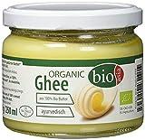 Bioasia Ghee Orgánico, 100% Mantequilla Clarificada Para Freír, 229 g/250 ml, 1 unidad