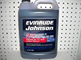 Evinrude Johnson 2-Stroke Temps Outboard Oil TC-W3 Mineral Formula
