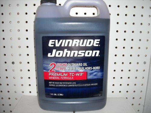 Evinrude Johnson 2-Stroke Temps Outboard Oil TC-W3 Mineral Formula