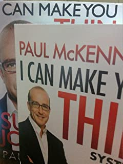 PAUL McKENNA'S I CAN MAKE YOU THIN SYSTEM (Programme your mind to slim your body) BUNDLE WITH SUCCESS JOURNAL 90 DAYBOOK AND FIVE AUDIO CDS (