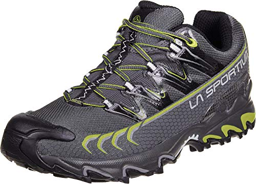LA SPORTIVA Ultra Raptor GTX Grey/Green, Zapatillas de Trail Running Unisex Adulto, 45 EU
