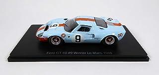 OPO 10 - Ford GT40 Gulf # 9 Ganador Le Mans 1968 - Rodriguez-Bianchi - Spark 1/43 para Hachette Japon (04)