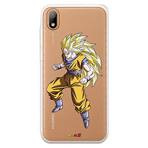 Funda para Huawei Y5 2019 Oficial de Dragon Ball Goku Super Saiyan 3 para Proteger tu...