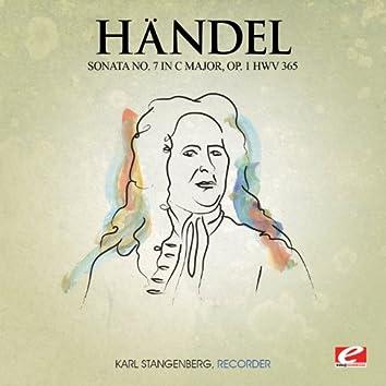Handel: Sonata No. 7 in C Major, Op. 1 HMV 365 (Digitally Remastered)