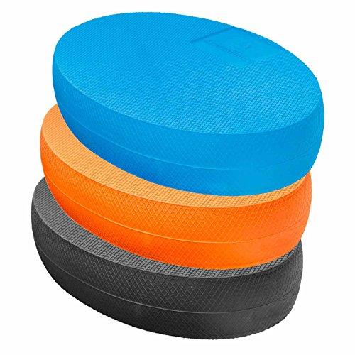 #DoYourFitness® Balance-Board - ca. 28 x 17 x 6cm | Gewicht 125g - gelenkschondendes Ganzkörpertraining aus Schaumstoff : Balance-Pad Koordinationsmatte Balance-Kissen Balancetrainer »Ovado« schwarz