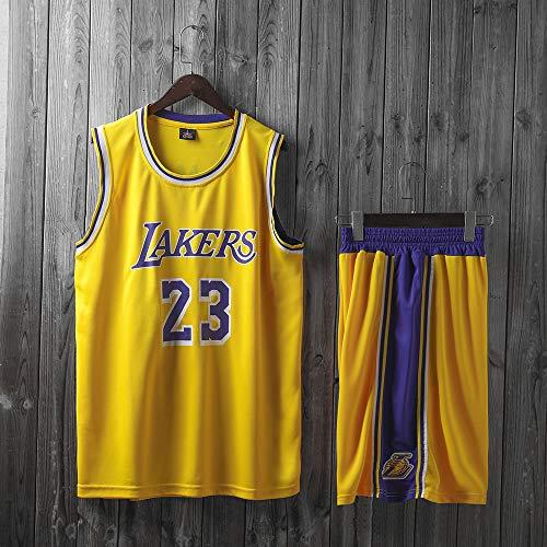 Camisetas De Hombre, Los Angeles Lakers # 23 Lebron James - NBA Clásico Baloncesto Ropa Deportiva Chalecos Cómodos Sueltos Tops, Camisetas Sin Mangas Uniformes
