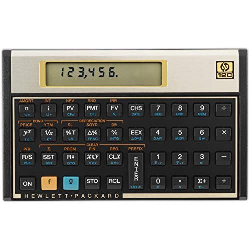 Calculadora Financeira Hp 12c Gold - Nacional