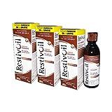 3X RESTIVOIL FISIOLOGICO - Olio Shampoo da 250 ml - LAVAGGI FREQUENTI