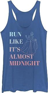 Disney womens Run Like It's Almost Midnight T-Shirt