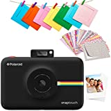 Zink Polaroid SNAP Touch 2.0 – 13MP Portable Instant Print Digital Photo Camera w/ Built-In Touchscreen Display, Black
