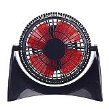 BESPORTBLE USB Desk Fan Portable Handheld Fan 360° Rotating Portable Table Fan Table Electric Fan Cooling Fan for Outdoor Office Travel Room (Random Color)