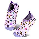 Escarpines de Baño para Niños Zapatos de Agua de Secado Rápido y...