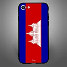iPhone 6/ 6s Case Cover Cambodia Flag, Zoot Protective Casing Modern Trendy Design Covers & Cases
