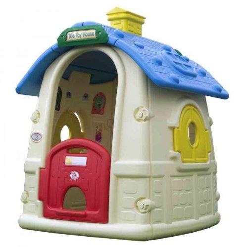 Injusa-2031 Casa Exterior Toy House Resistente para Niños, Multicolor (2031)