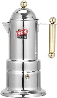 Jytrading Coffee Maker, Stainless Steel Pot Moka Espresso Maker Percolator Pot Coffee Extractor