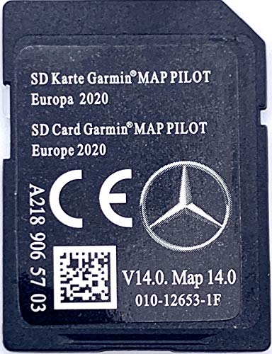 bon comparatif Carte SD GPS Mercedes Garmin Map Pilot Europe 2019-2020 – STAR1 – v13 – A2189065603 un avis de 2021