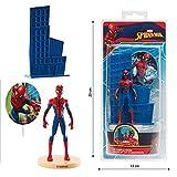 Dekora - Decoracion para Tartas con la Figura de Spiderman de PVC , color/modelo surtido