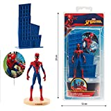Dekora - Decoracion para Tartas con la Figura de Spiderman de PVC