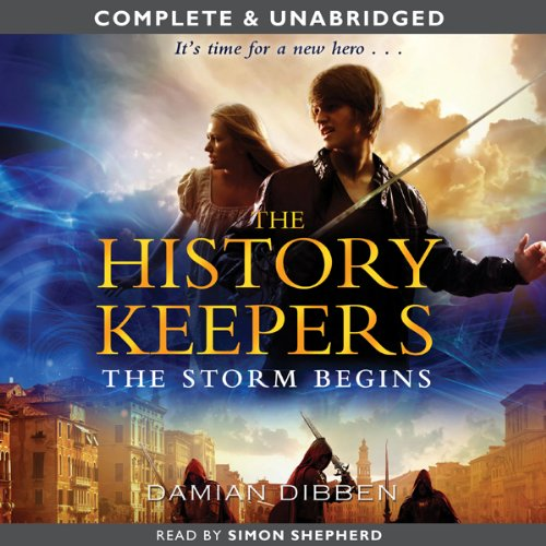The History Keepers: The Storm Begins cover art