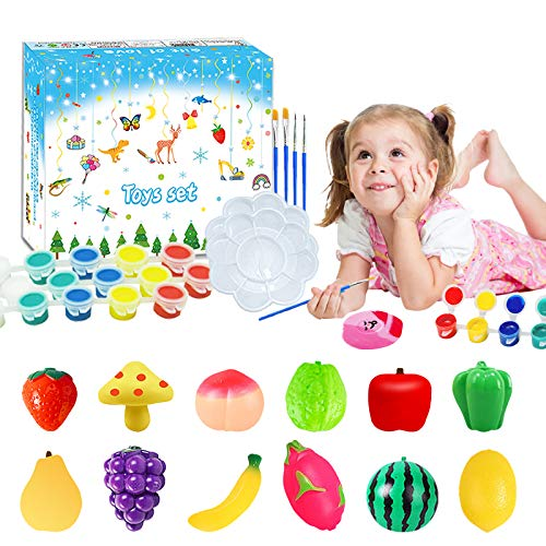 Vegetable and fruit painting set