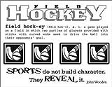 SRM Stickers 40008 Say It with Stickers Mini Field Hockey Scrapbooking