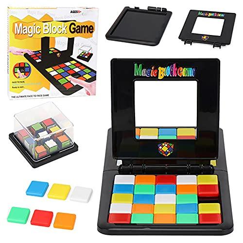 Yajun Color Magic Block Game Juego de Competición 3D Padres e Hijos de Mesa Puzzles Aprendizaje Juguetes Educativos...