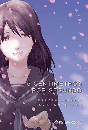 5 centímetros por segundo (Manga: Biblioteca Makoto Shinkai)