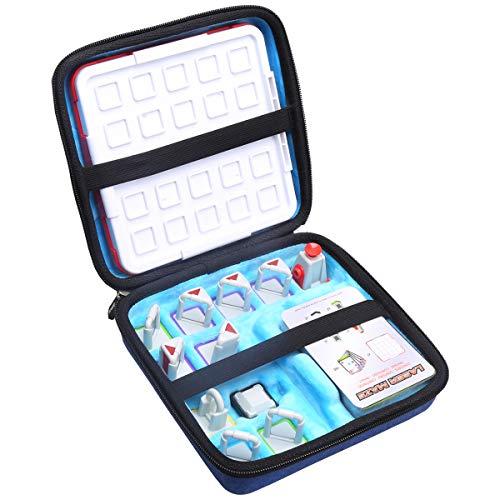 Aproca Hart Schutz Hülle Reise Tragen Etui Tasche für Thinkfun Laser Maze (Blue)