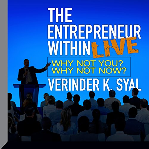 The Entrepreneur Within LIVE audiobook cover art